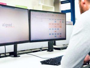 Medical device developer using design controls software Aligned Elements