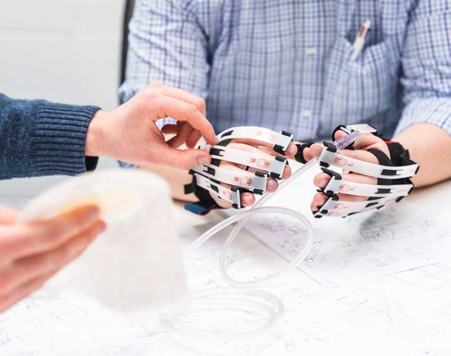 Understanding User Experience in Medical Device Development using Cambridge simulation gloves